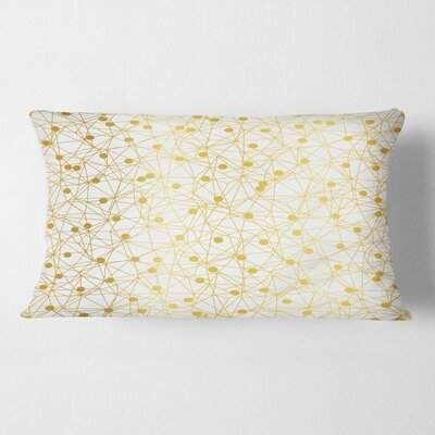 East Urban Home Maze II Lumbar Pillow  Wayfair MidCentury MODERN East Urban Home Designart Golden Maze Ii Throw Pillow East Urban Home