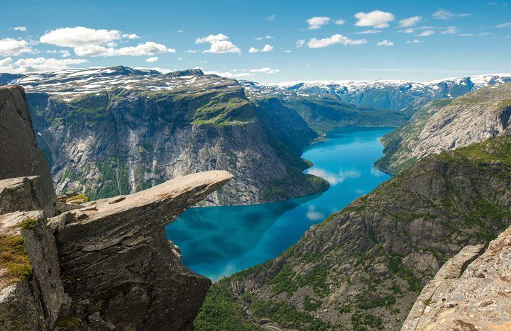 1.Trolltunga, Norway