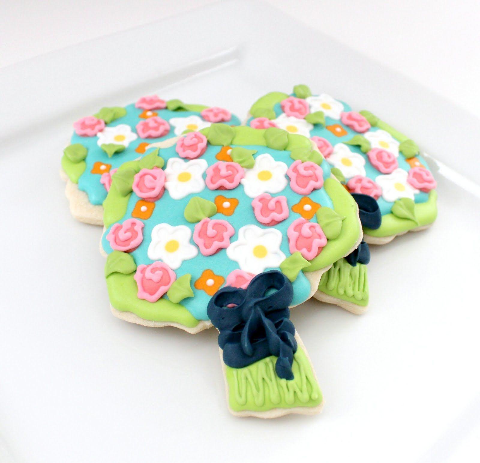 Wedding Bouquet Cookies