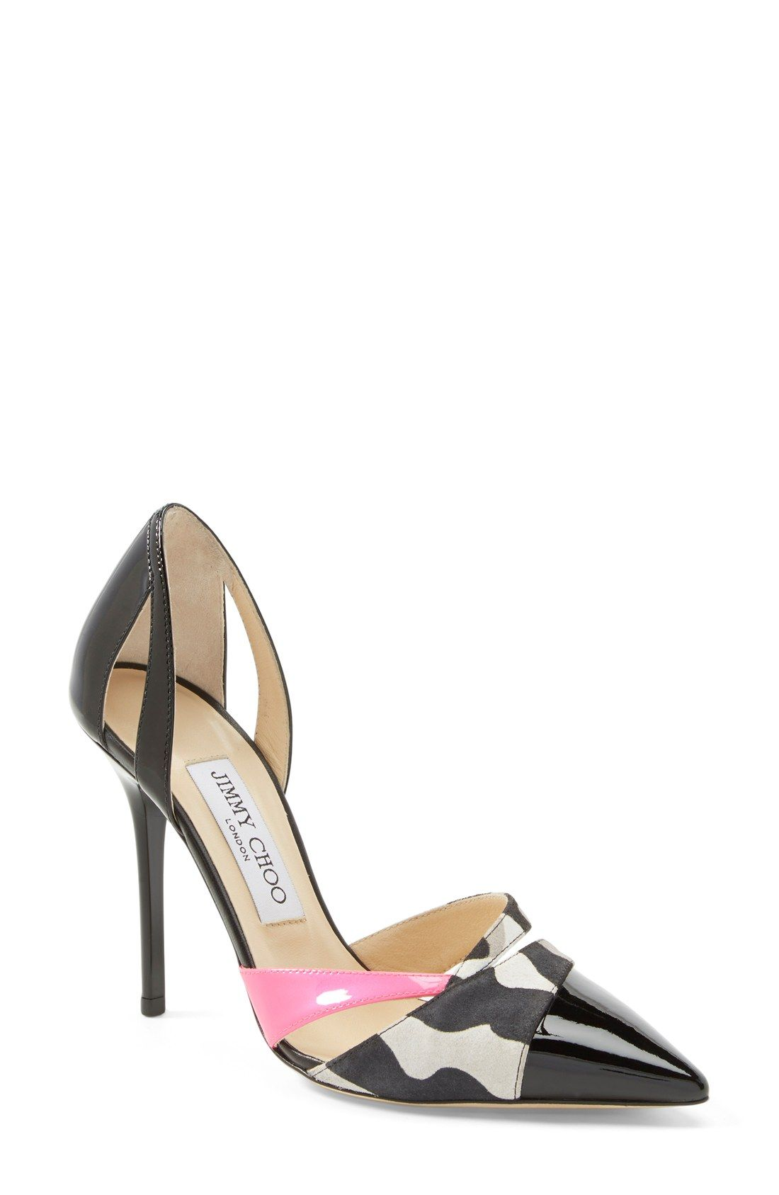 2063519440cf Head over heels for these artful Jimmy Choo pumps.