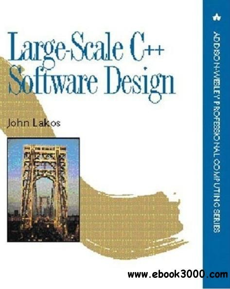Large-Scale C++ Software Design - Free eBooks Download Manuais - software manual template