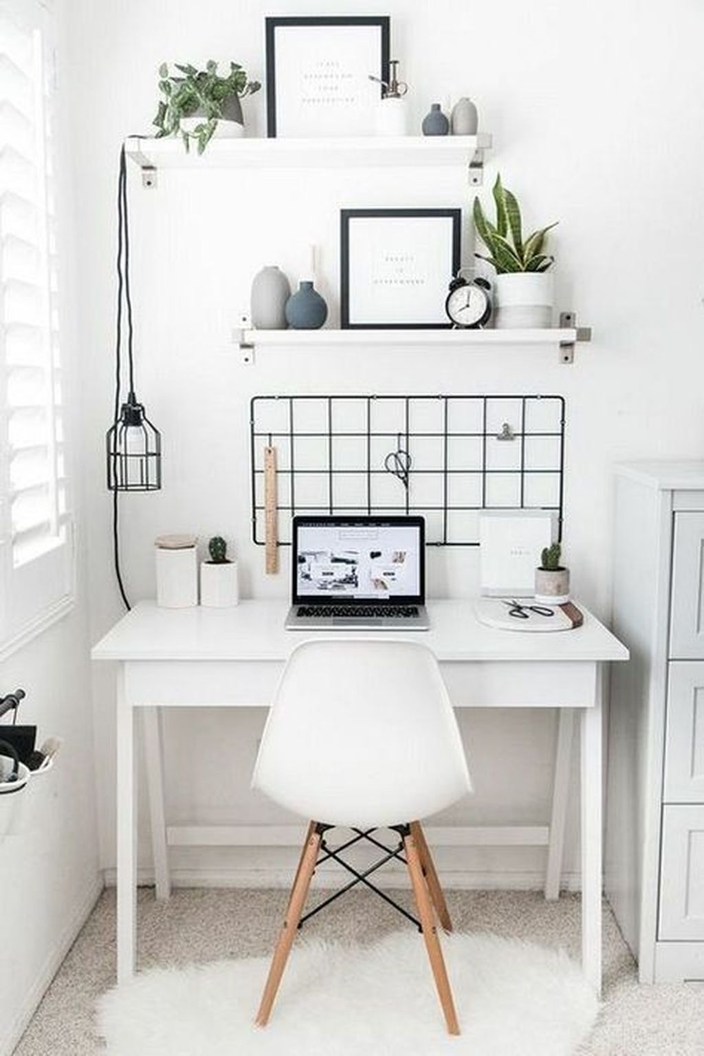 20 Simple And Classy Home Office Design Ideas Trenduhome Modern Home Office Home Office Design Home Office Decor
