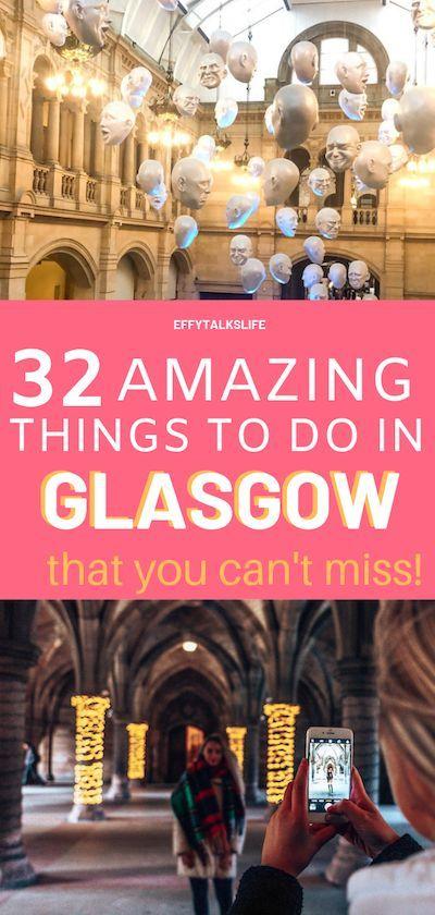 How To Explore Glasgow, Scotland - The PERFECT weekend itinerary!   Glasgow scotland, Glasgow ...