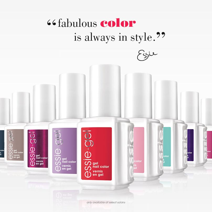 Make your appointment for long lasting color at an essie gel salon ...