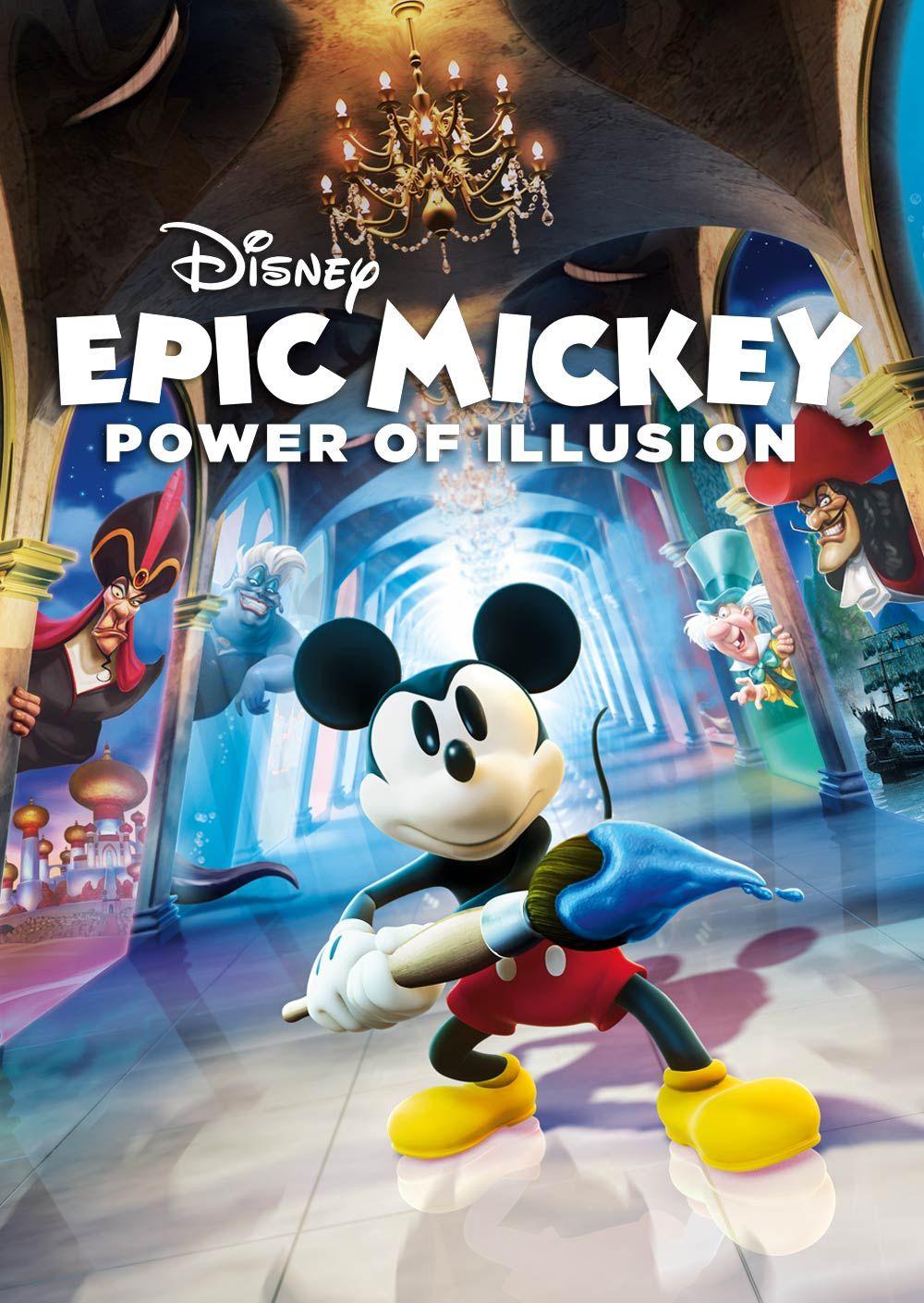 Disney Epic Mickey Power Of Illusion Disney epic mickey