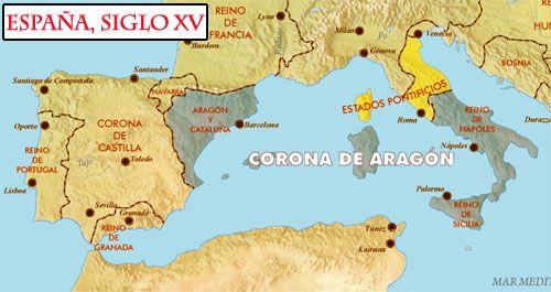 Mapa España Siglo Xv.Imagenes Espana Siglo Xv Arte Y Literatura Geografia E