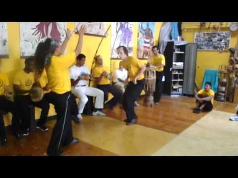 Inspiring female capoeirista: Contra-Mestra Andrea, of FICA capoeira Angola Oakland