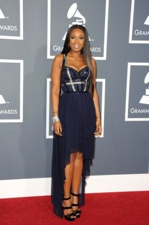 High Low Black Sheath Column Party Dress Inspired By Jennifer Hudson At Grammy on Chiq  $0.00 http://www.chiq.com/alizeebridal/high-low-black-sheath-column-party-dress-inspired-jennifer-hudson-grammy