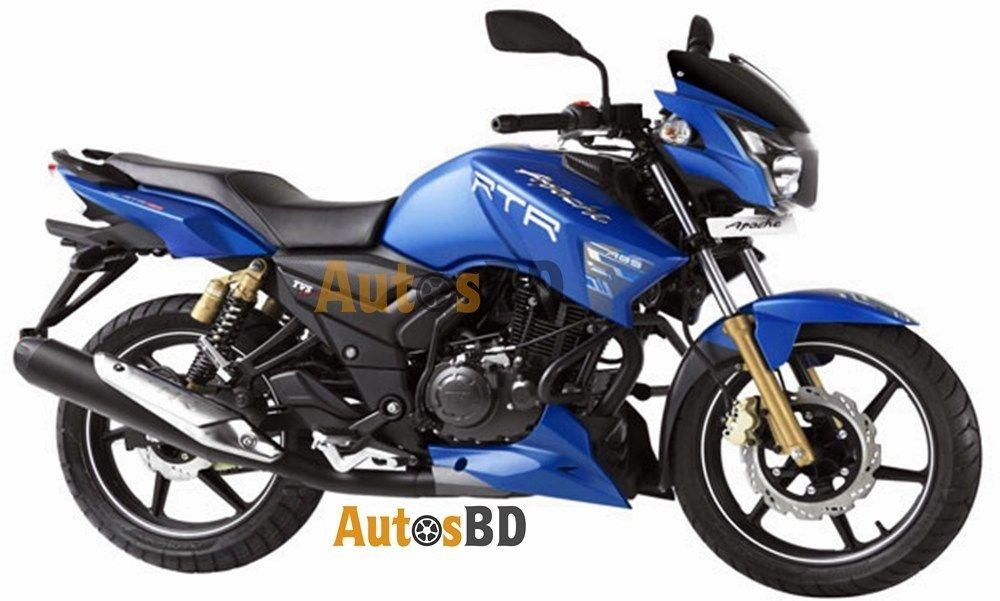 Tvs Apache Rtr 150 Matte Blue Edition Specification Apache Bike