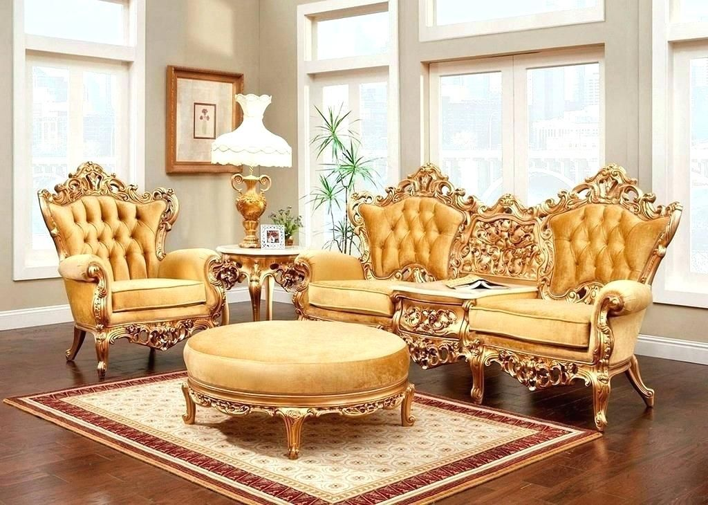 Antique French Provincial Living Room Furniture Living Room