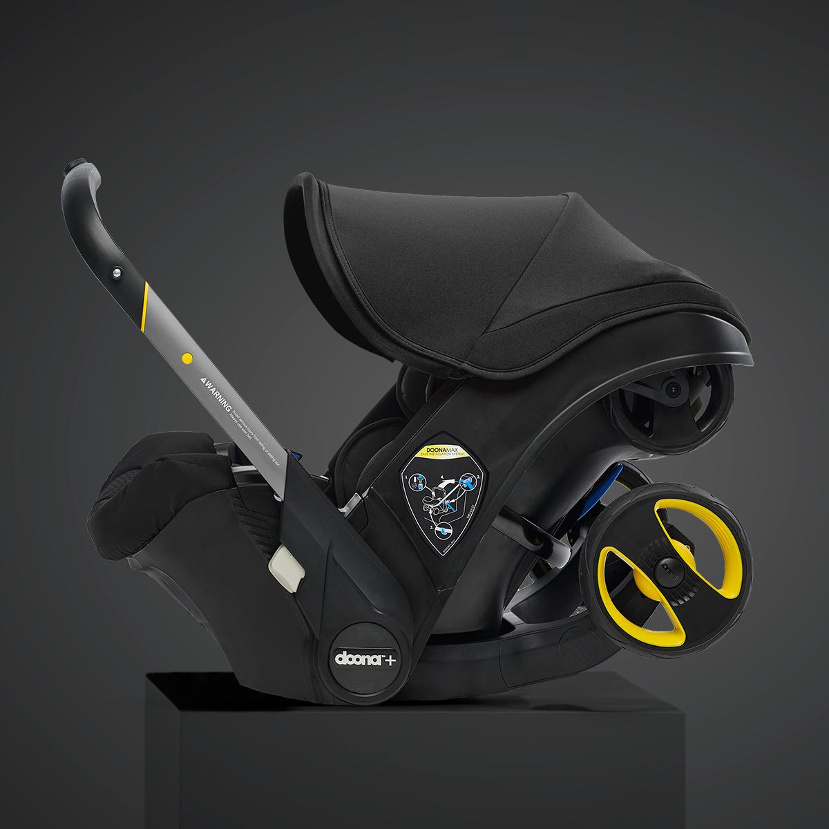 Nitro Black Doona 2019 Baby car seats, Car seats, Doona
