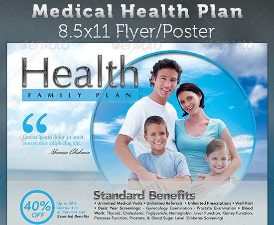 MedicalHealth  Office    Flyers Flyer Template And