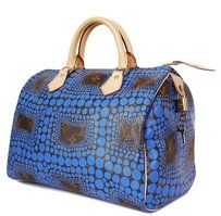 802b32fa8bb1 Louis Vuitton Dots Rare Limited Edition Satchel in Blue | Kabelky ...