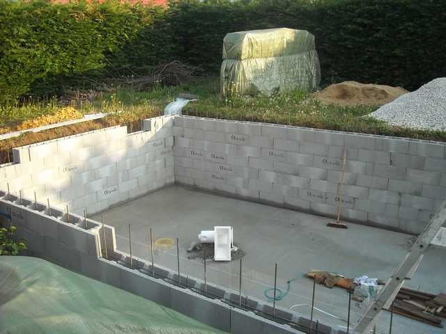 radier piscine DT Pinterest Swimming pools and Construction - Piscine A Construire Soi Meme