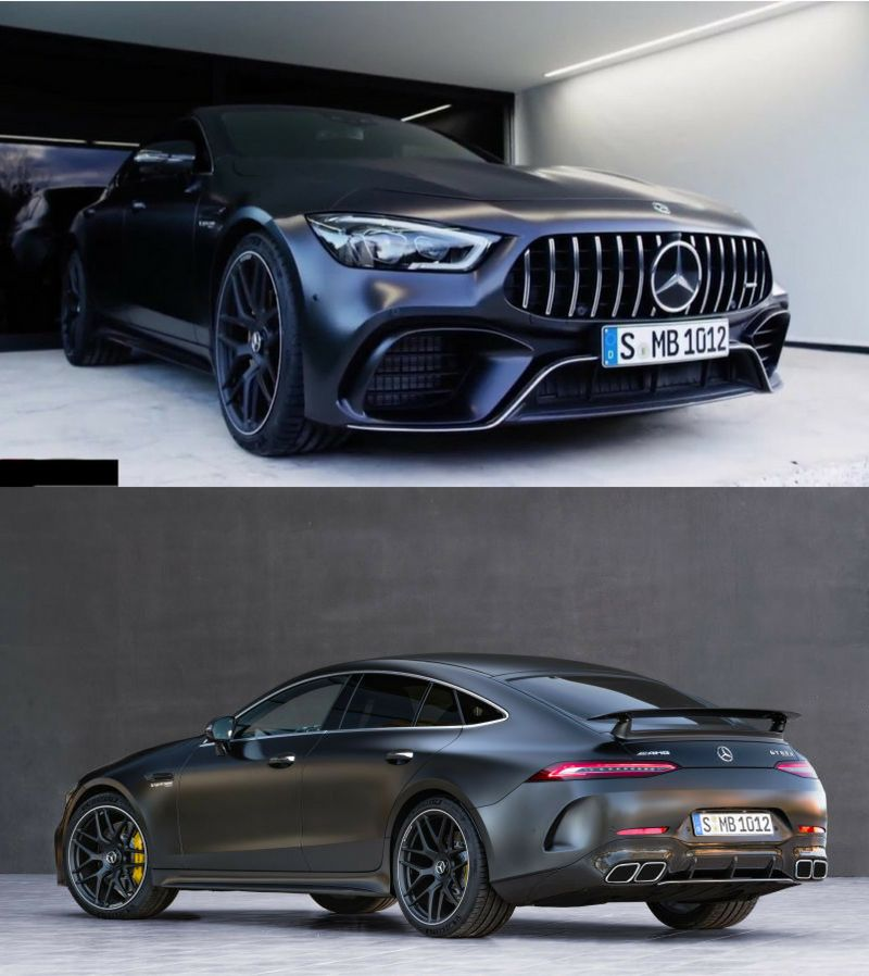 2019 Mercedes-AMG GT 4-Door Coupe With 630 HP