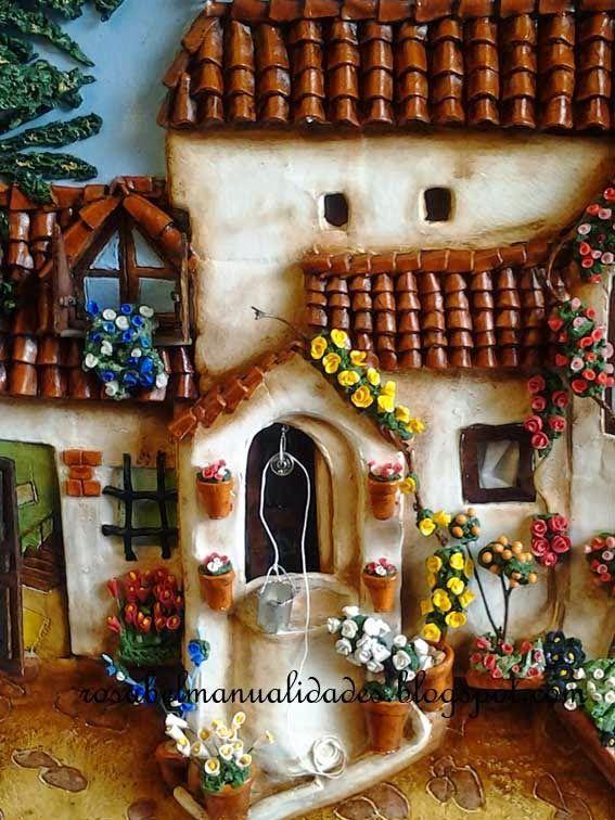 Resultado de imagen para cuadros con pasta de sal for Cuadros decoracion hogar