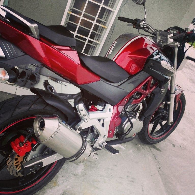 Demak Dzm 200 My First Brand New Bike Motorbikes Pinterest
