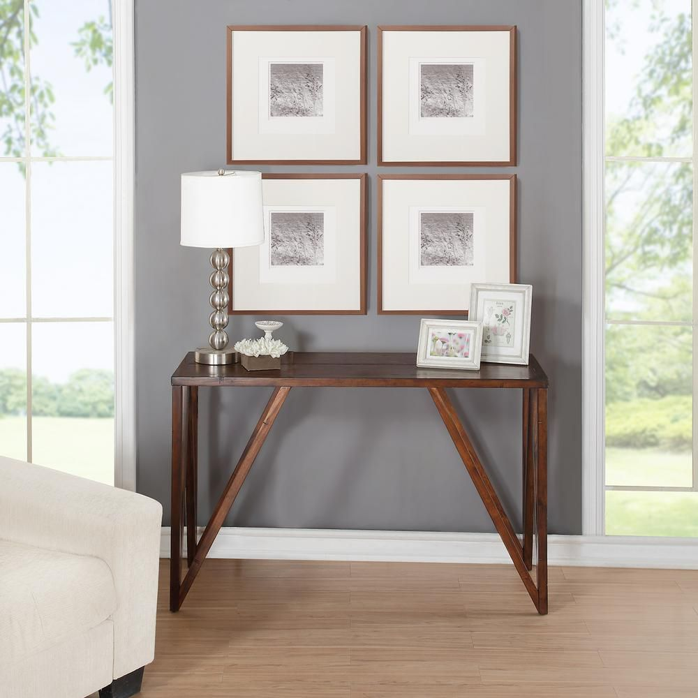 Foremost Bali Old World Chestnut Console Table CNO01281