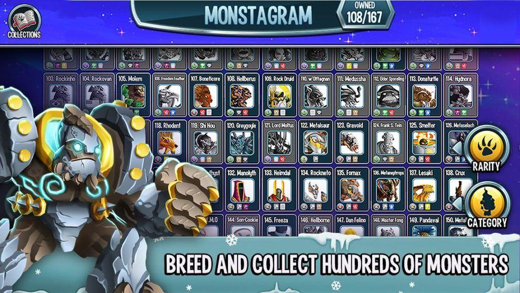 The Best Monster Legends Breeding Guide And Chart   monster