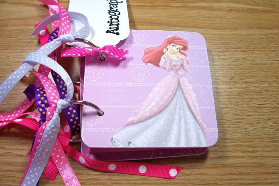 Disney Autograph Book by HampshireRose on Etsy, $15.00
