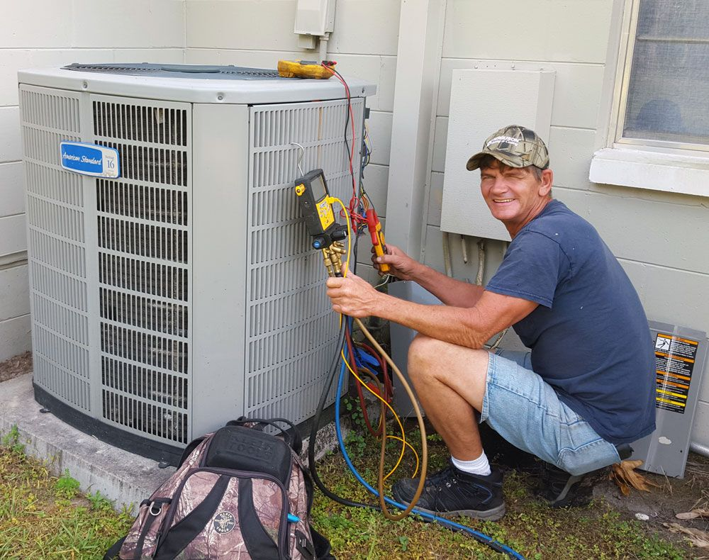 Got an AC problem? We've got the answer—24/7, any time day