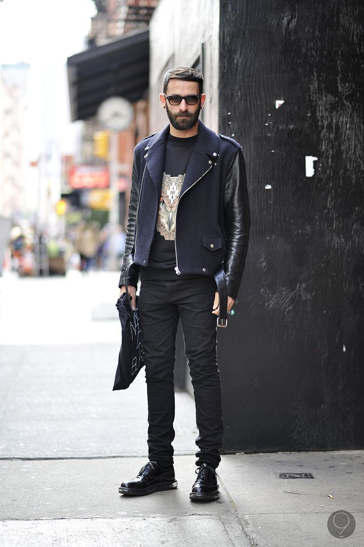 atumn trend leather jackets streetstyle men https://thefashiontag ...