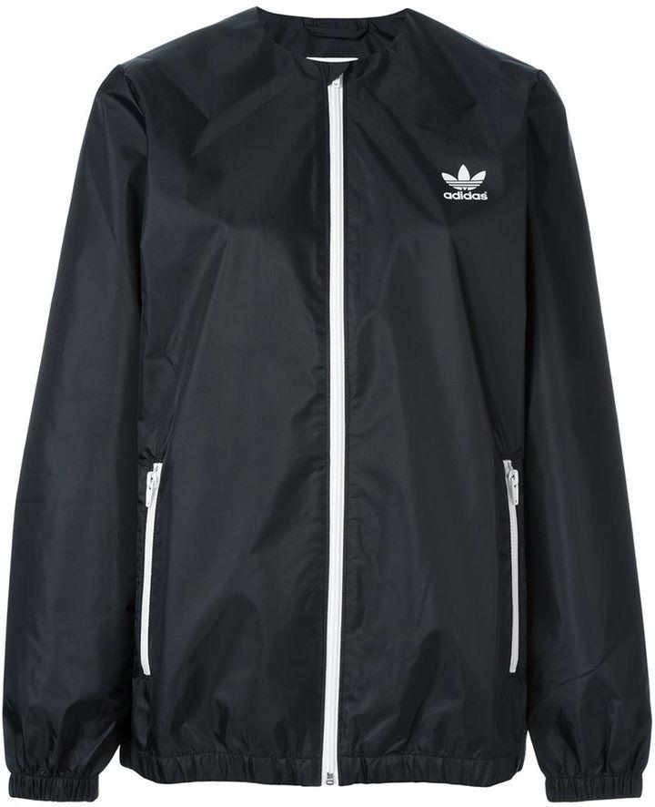 f395645b9 Adidas Originals x HYKE three layer windbreaker jacket