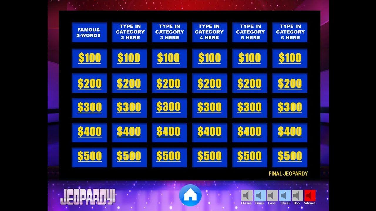 Best Free Jeopardy Ppt Template Jeopardy Powerpoint Jeopardy Powerpoint Template Powerpoint Game Templates