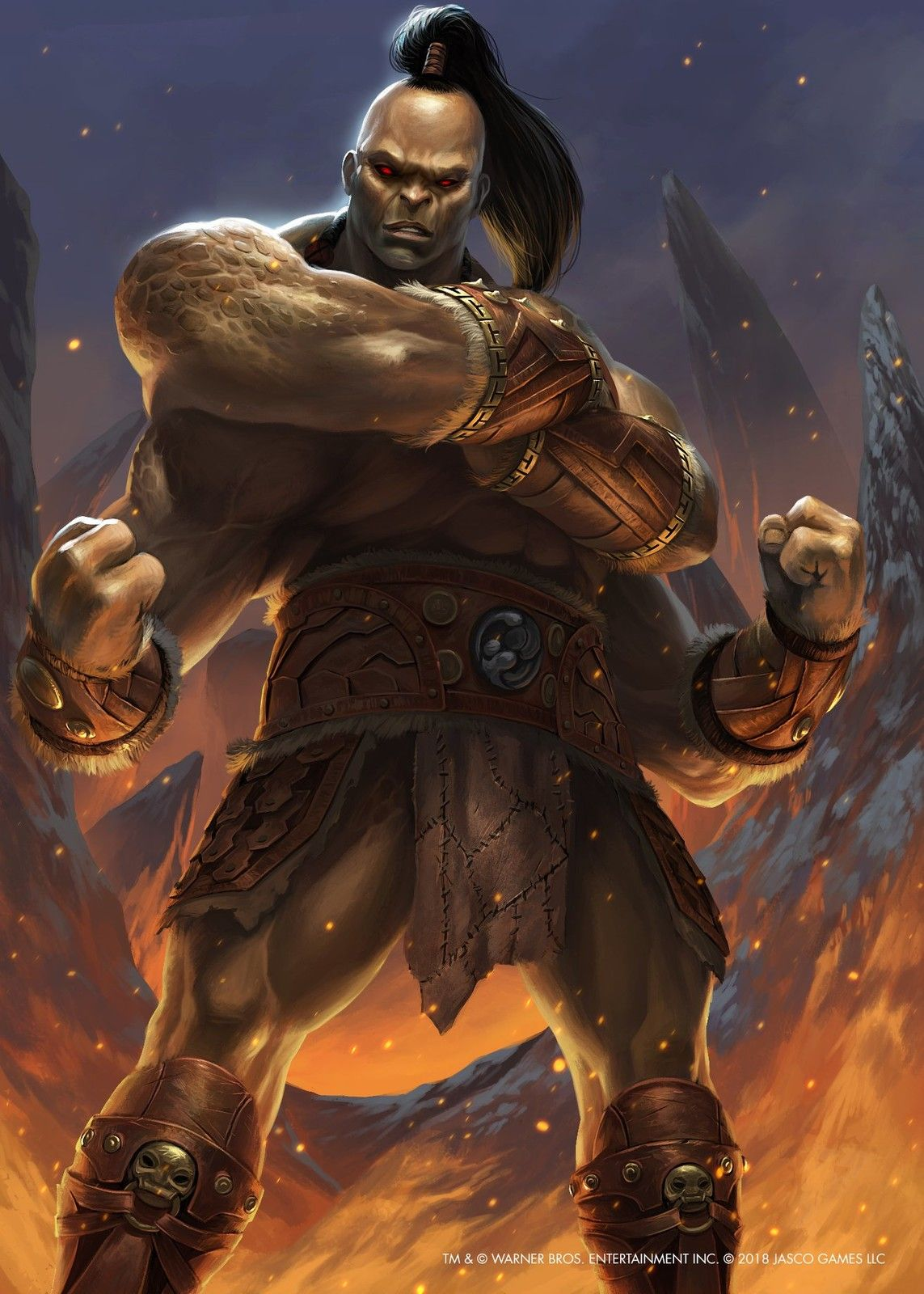 Goro Mortal Kombat X Tcg Brian Valeza On Artstation At Https