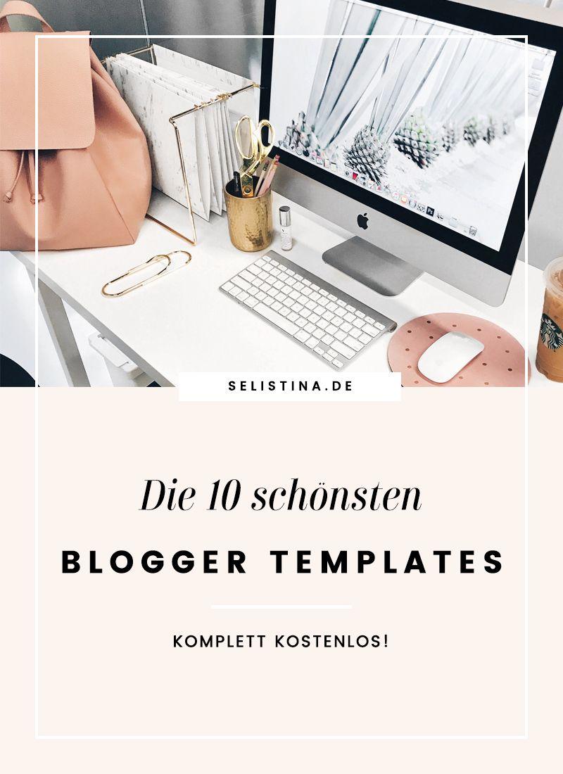 Die 10 schönsten kostenlosen Blogger Templates | Template