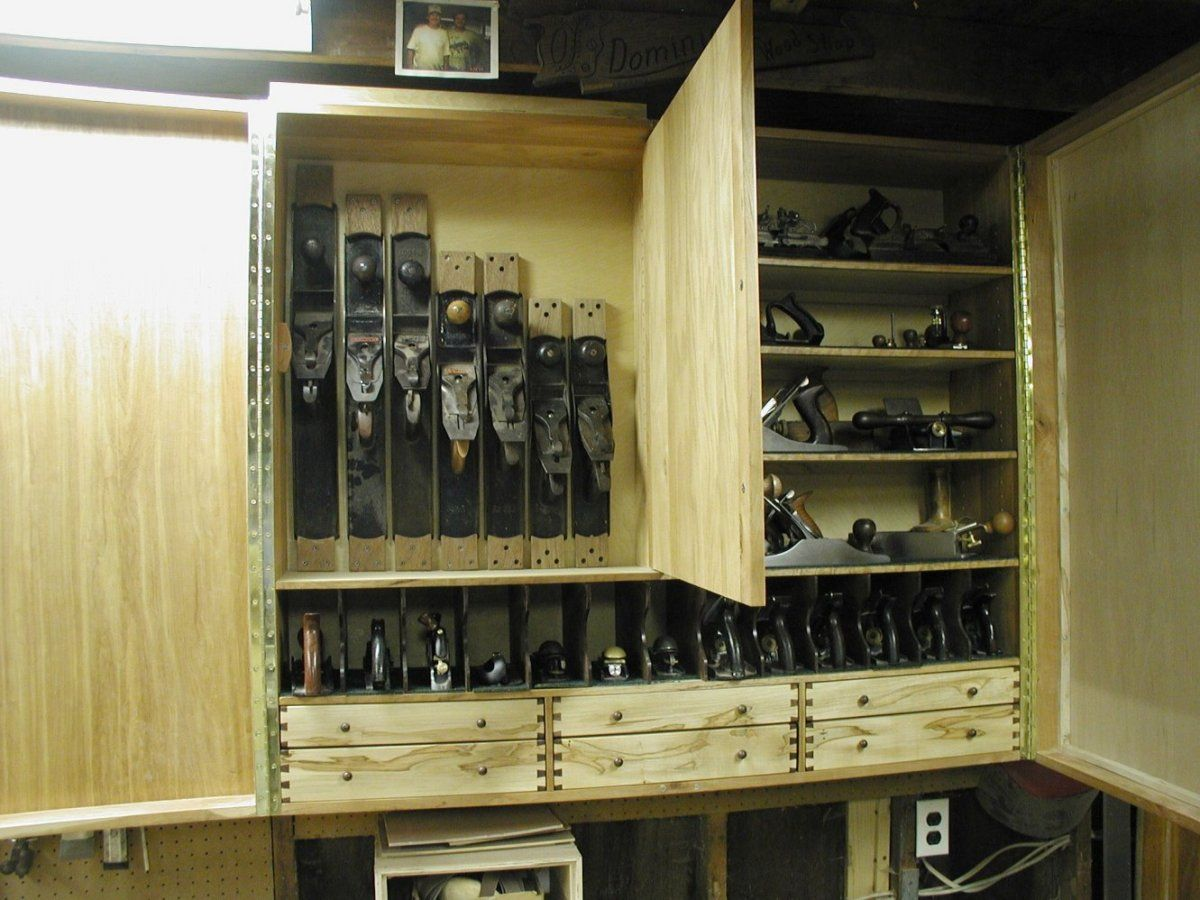Wall mounted hand tool cabinet - Reader's Gallery - Fine ...