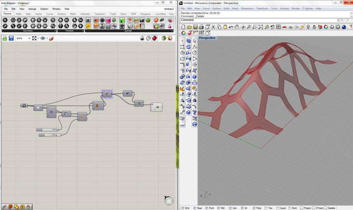 Brep curve trim function grasshopper grasshopper for Tuto architecte 3d