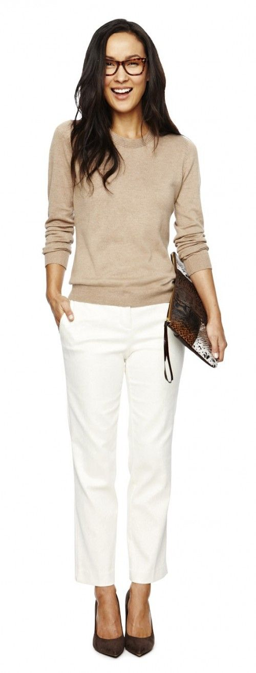 Stylish And Comfy Sweater Work Outfits For Girls