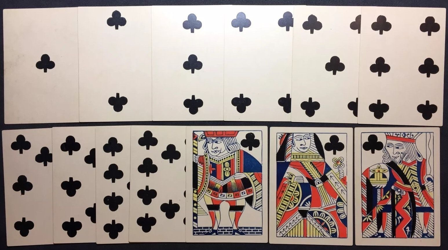 1800s authentic gamblers saloon antique playing cards