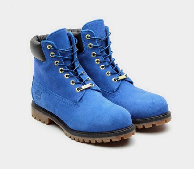 Atmos X Timberland 6 Inch Premium Blue Suede Boots Blue Suede Boots Boots Timberland 6 Inch Boots