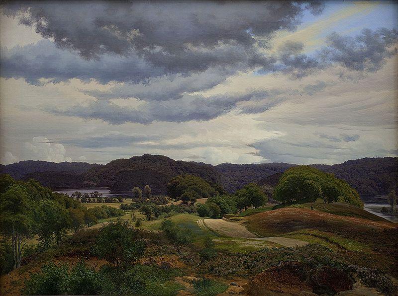 Vilhelm Kyhn Landscape, Denmark, Photo