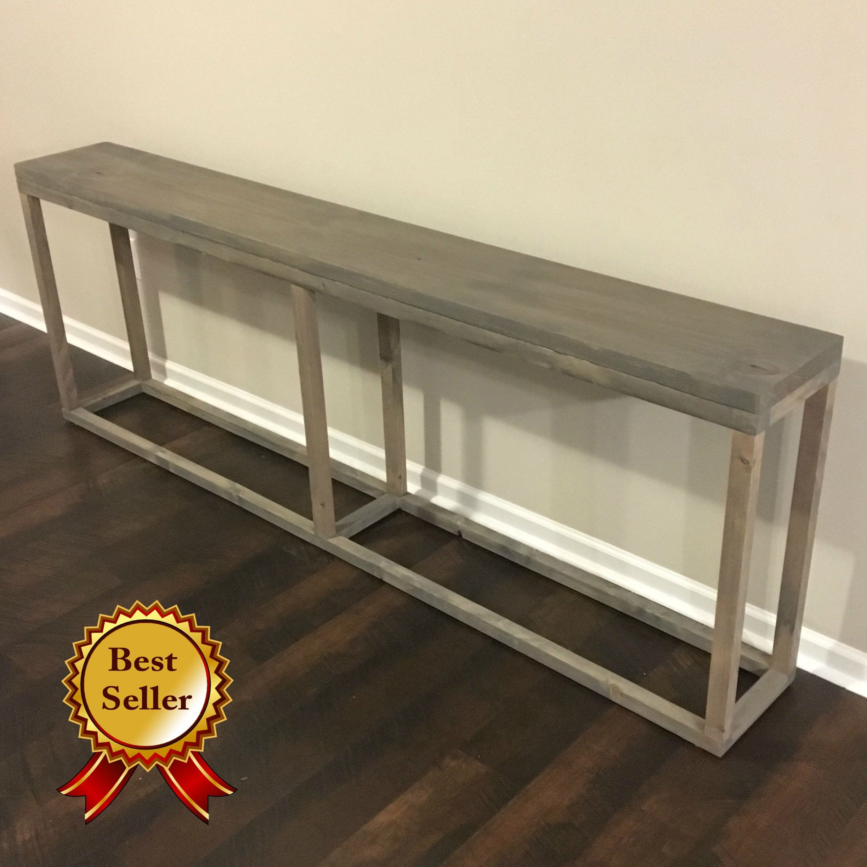 Easy Diy Sofa Table Diy Sofa Table Sofa Table Decor Long Sofa Table