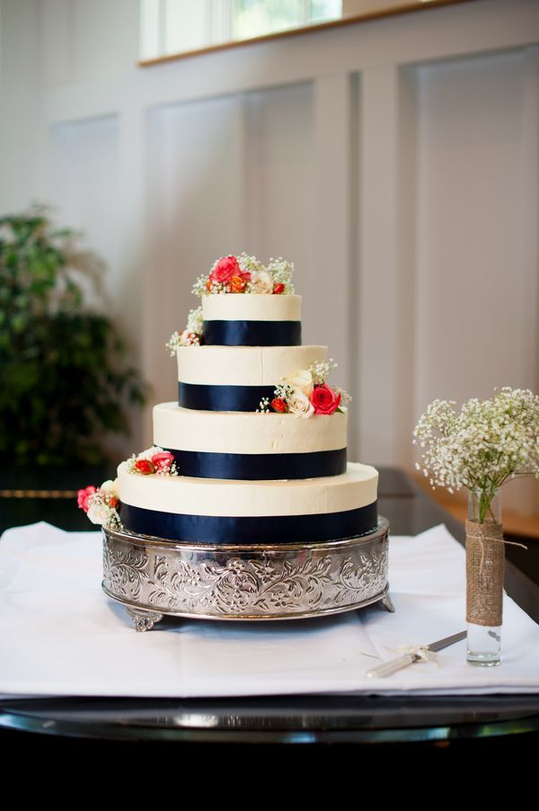 navy blue and coral wedding - Google Search