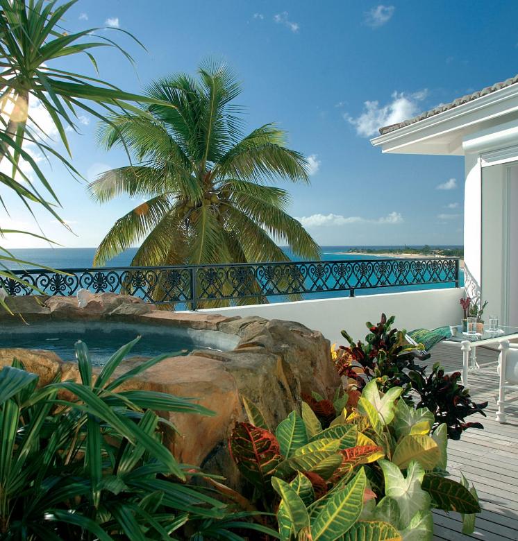 La Samanna, vote hôtel de luxe dans les Caraïbes à Saint