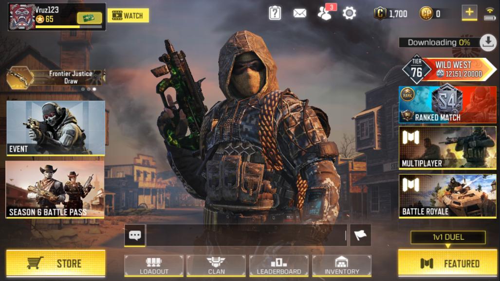 Pin di Game Call of Duty Mobile