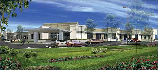 Single story office building designs new medical for Professional building designer