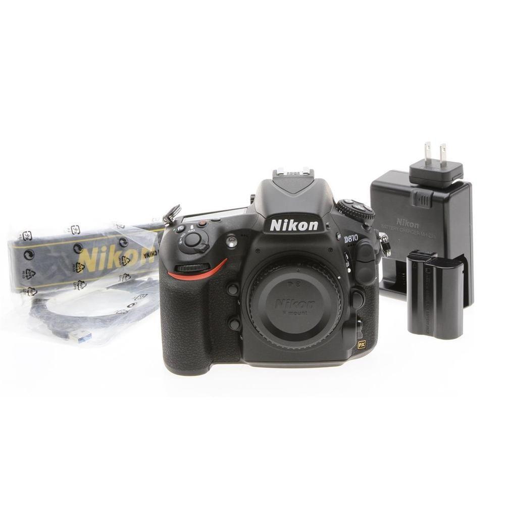 Nikon D810 36.3 Megapixel Full-Frame Digital SLR Body | Digital ...