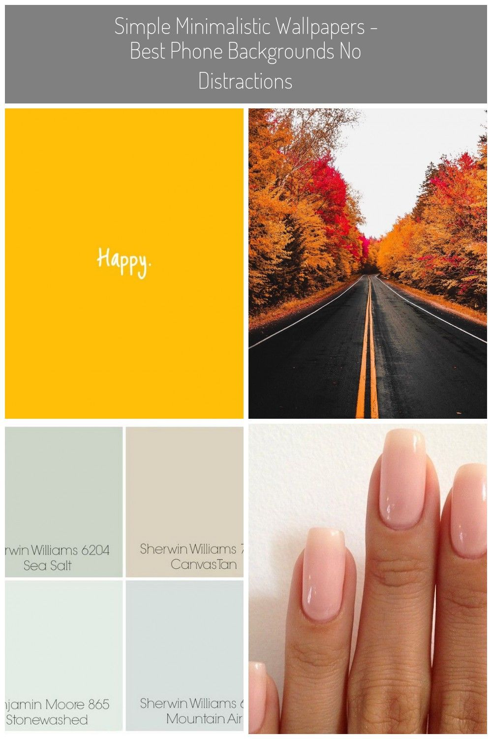 Simple Minimalistic Wallpapers Best Phone Backgrounds to
