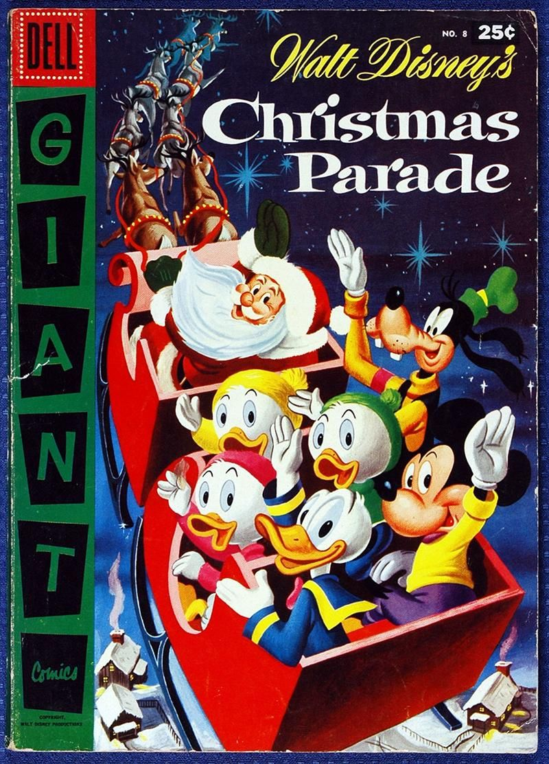 Dell Giant Walt Disney's Christmas Parade 8 (1956