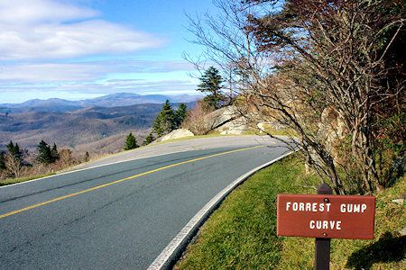 11. Grandfather Mountain, Forrest Gump