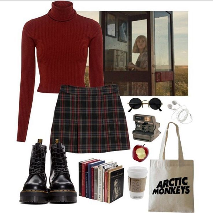 -A #grunge #outfit #alternative - - #winteroutfits # 90sgrunge -A