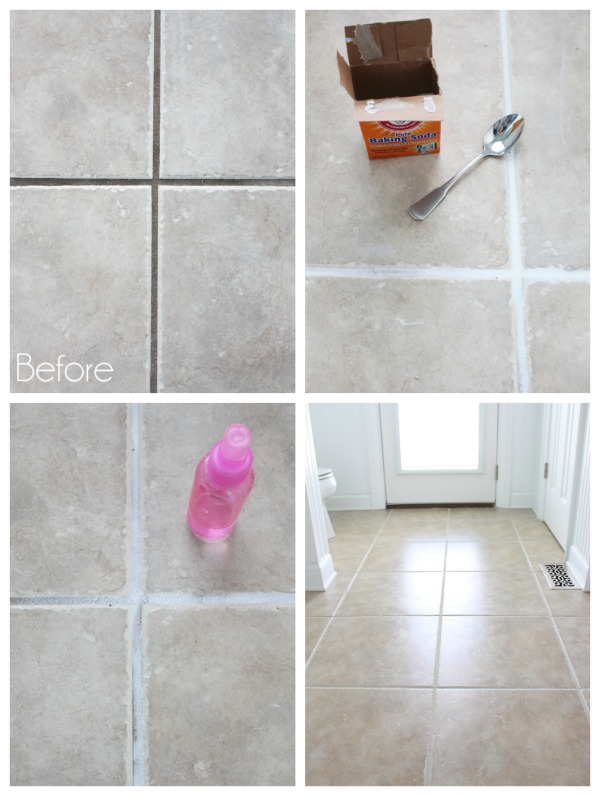 Guest Bath Makeover Grout Cleaner Bath Makeover Baking Soda