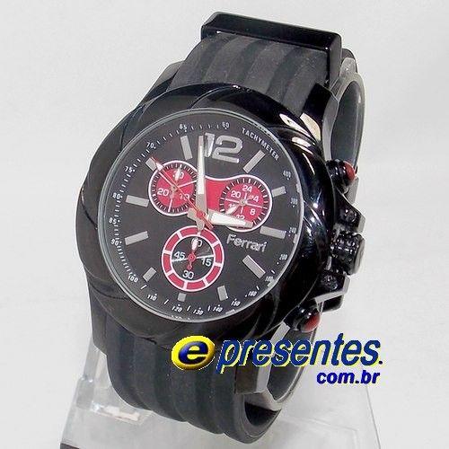 ce6b39c4c65 FB003-P Relógio de Pulso FERRARI FUEL