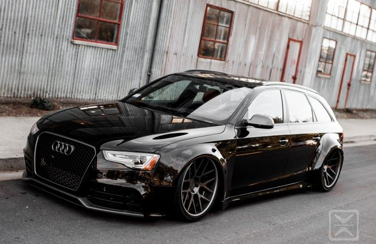 2010 audi a4 avant bagged rides mag audi a4. Black Bedroom Furniture Sets. Home Design Ideas