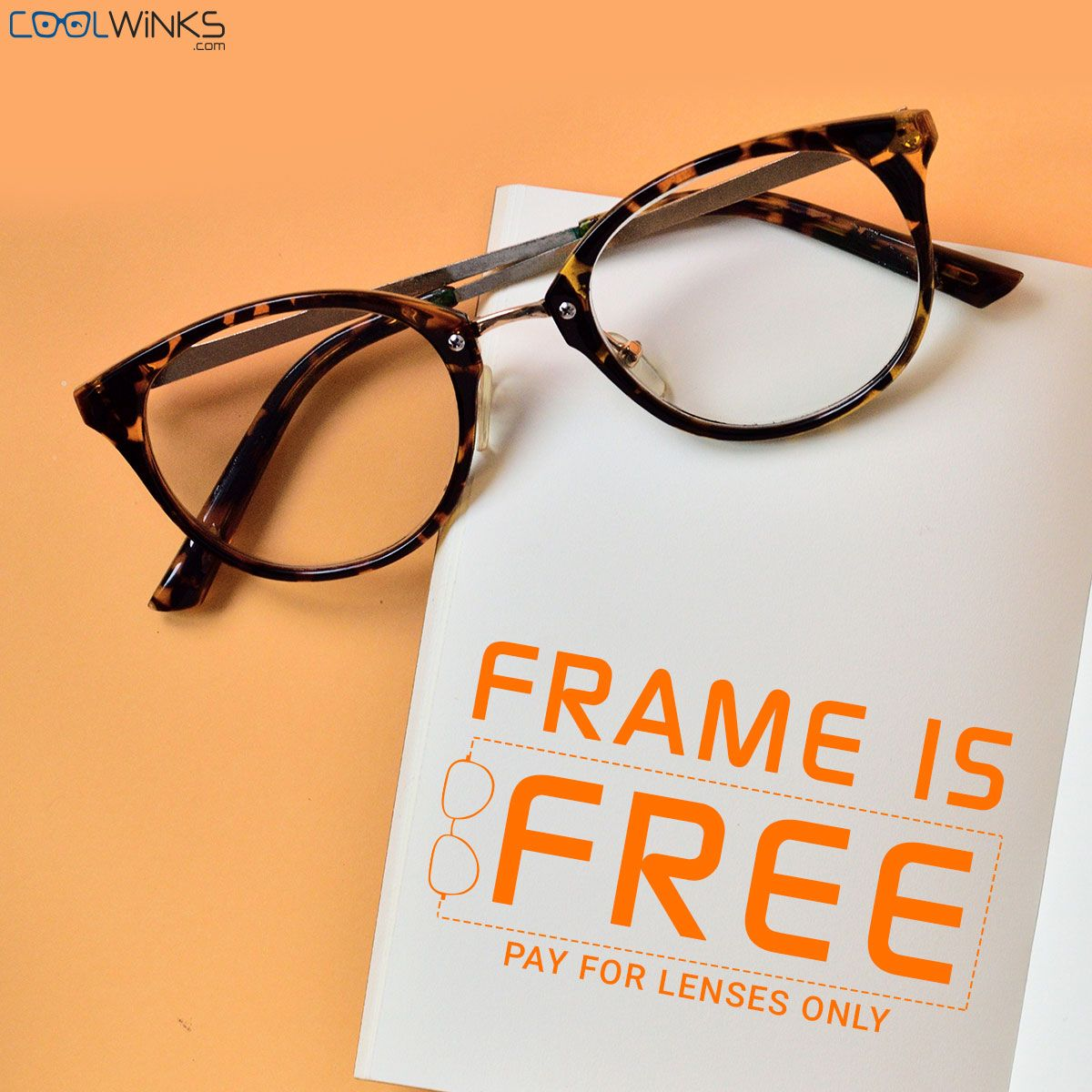 fb447e72fb1 Pay Only for Lenses  Coolwinks Sale. Use CoolCash   Get UPTO Rs.500  additional discount. Shop Now.